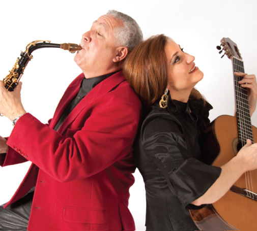 Berta Rojas and Paquito D'Rivera